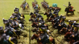 Hussars and Uhlans move out