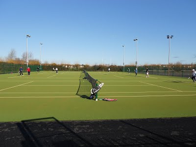Trackside courts