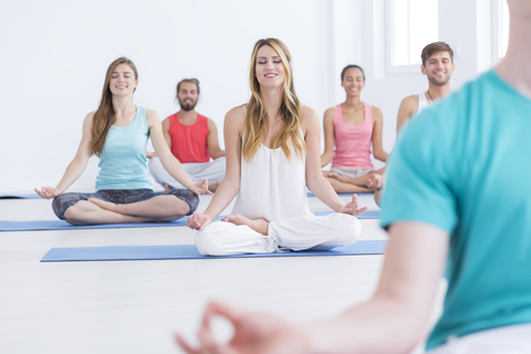 yoga can boost your mood