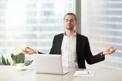 yoga and work