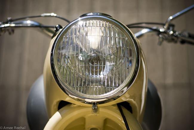 1956 Douglas Dragonfly headlight