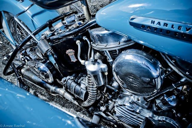 Harley-Davidson-Panhead-engine