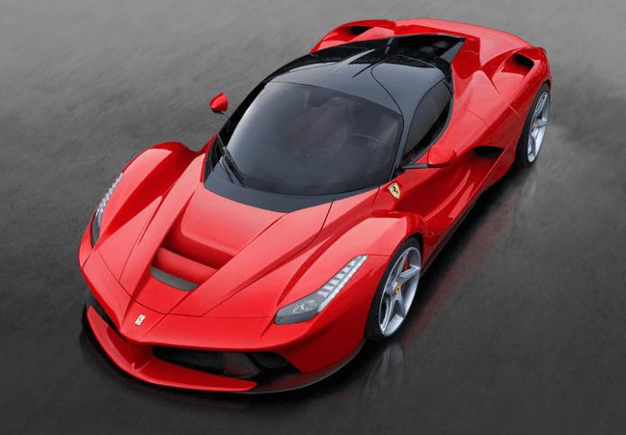Ferrari-LaFerrari headlights