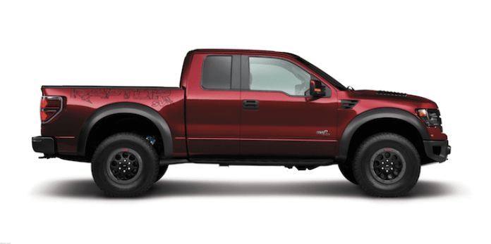 2014 F-150 SVT Raptor Special Edition side