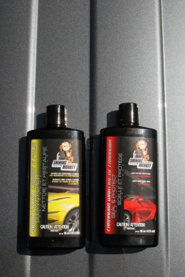 Shining Monkey Car Care Products liquid polish