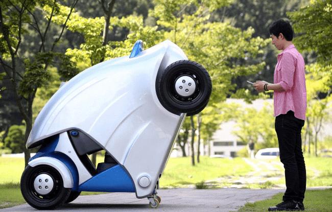 KAIST Foldable Electric Car