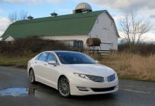 2014 Lincoln MKZ Hybrid Review