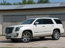 2015 Cadillac Escalade Review front view