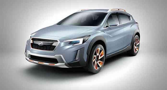 Subaru XV Concept front
