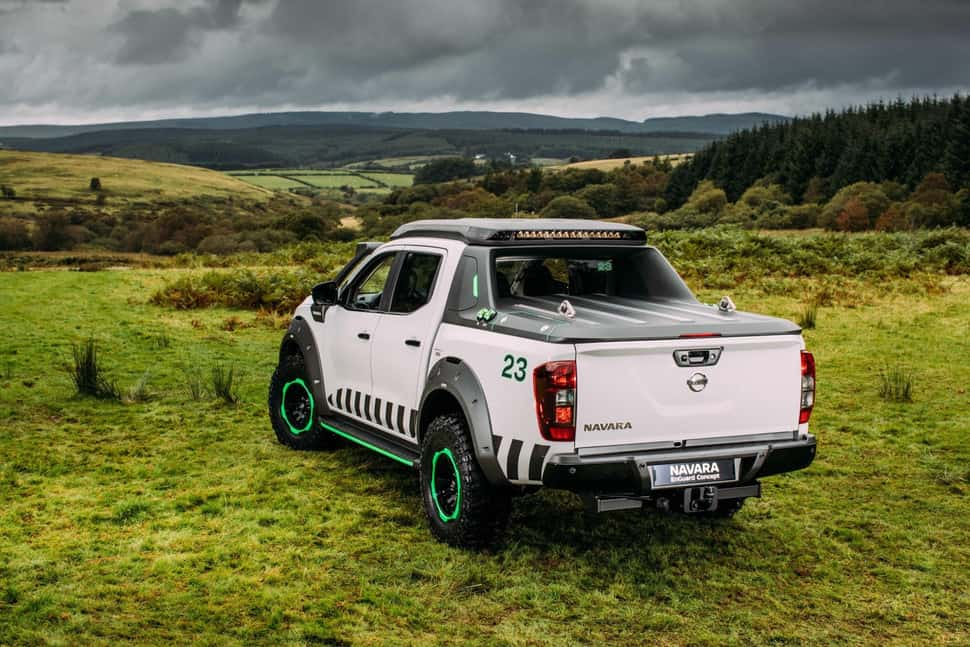 Nissan Navara EnGuard Concept Rescue Truck rear 2
