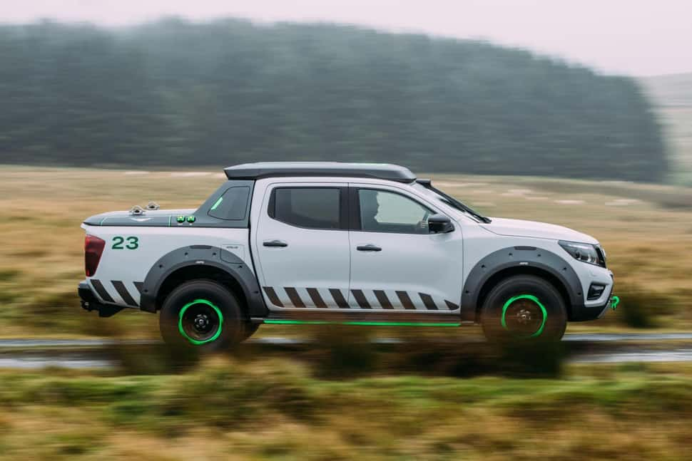Nissan Navara EnGuard Concept Rescue Truck rolling