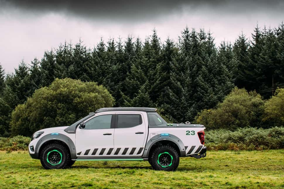 Nissan Navara EnGuard Concept Rescue Truck sideview