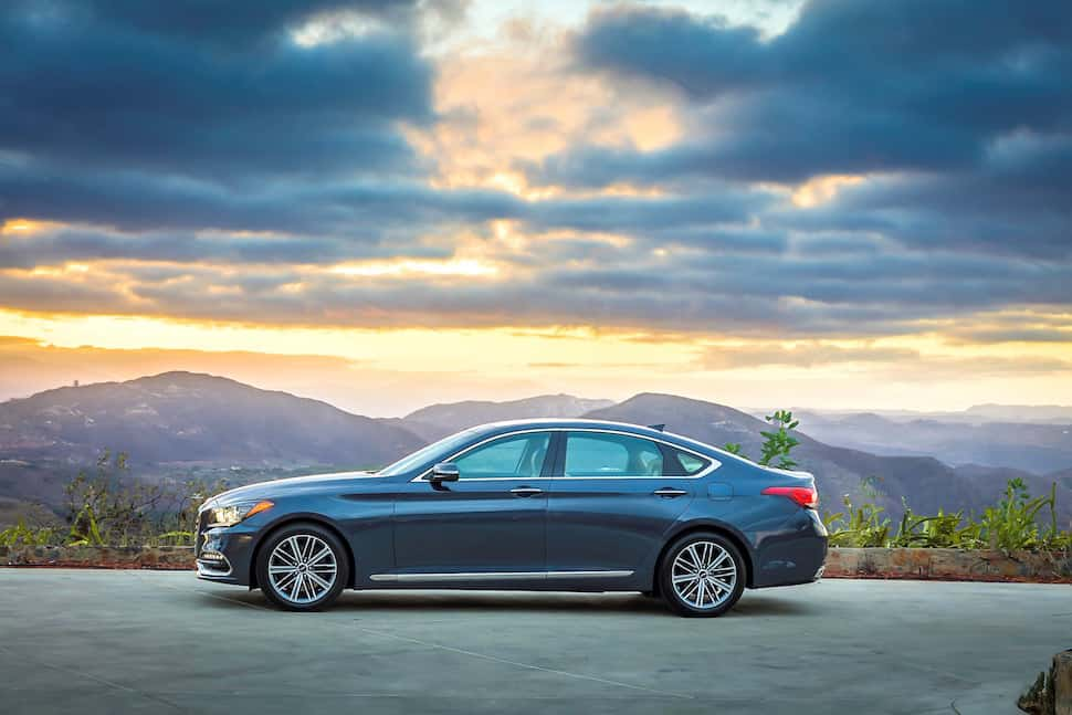 2017 Genesis G80 Sedan Is A Rebadged Hyundai Genesis with regard to 2017 Genesis  G80 Prices ...