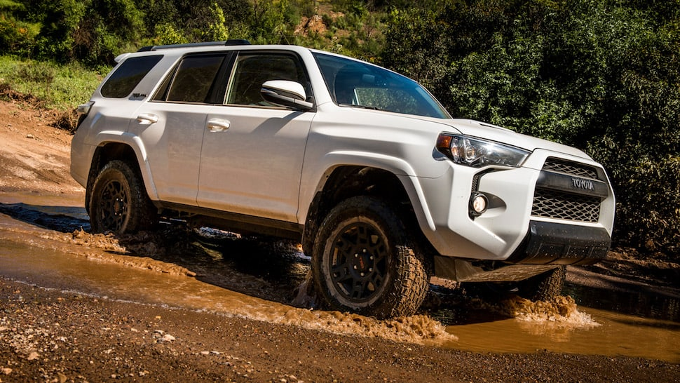 2017 toyota 4runner trd pro review sideview