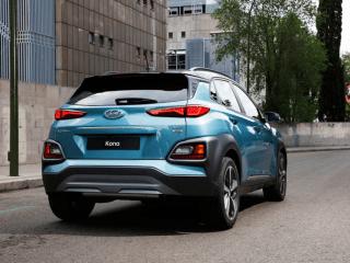 2018 Hyundai Kona rear
