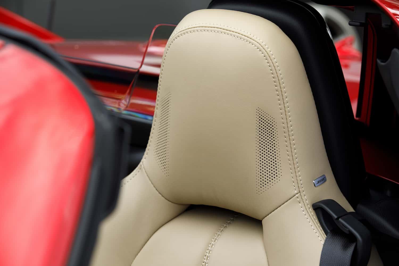 2017 Mazda MX-5 RF review headrest