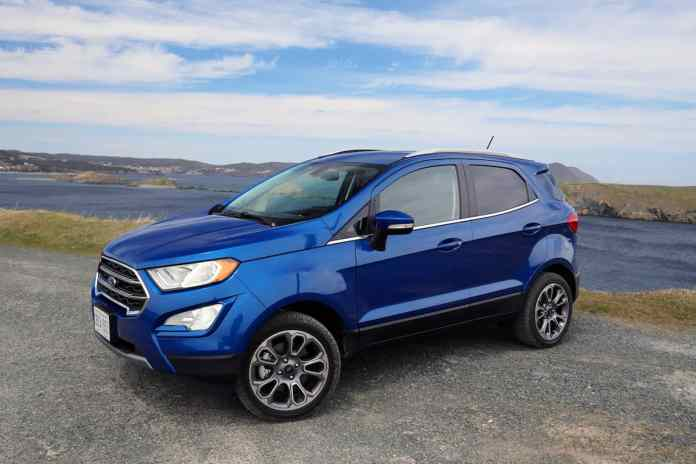 2018 Ford EcoSport Review sideview