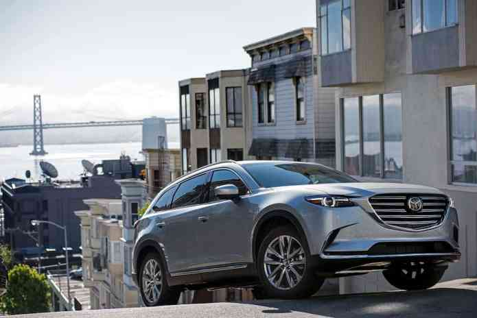 2017 Mazda CX-9 review front 3 quarter