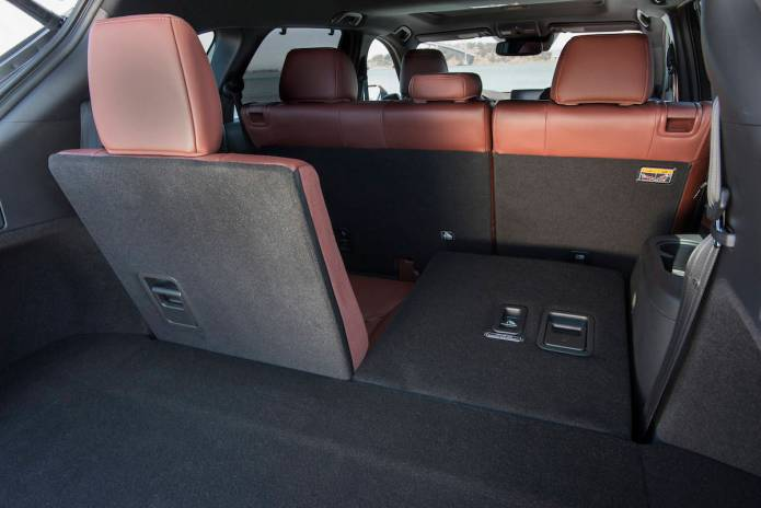 2017 Mazda CX-9 review rear cargo
