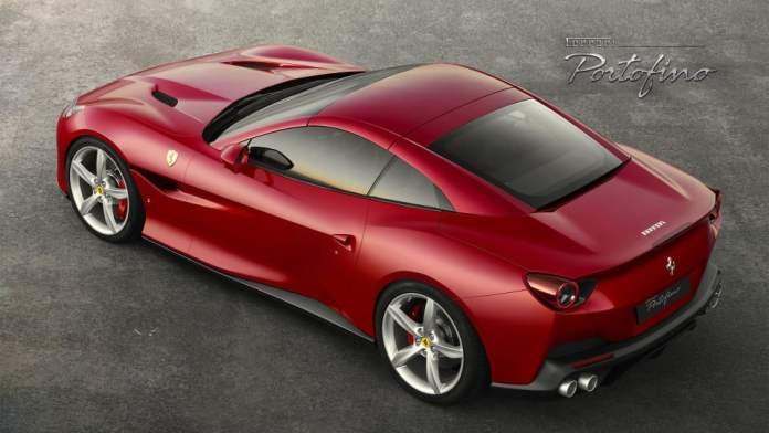 2018 Ferrari Portofino top rear
