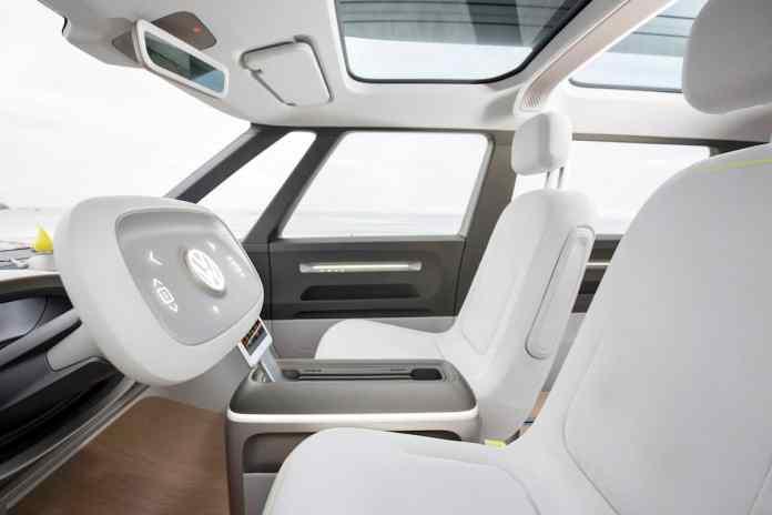 volkswagen I.D. BUZZ electric concept front cockpit