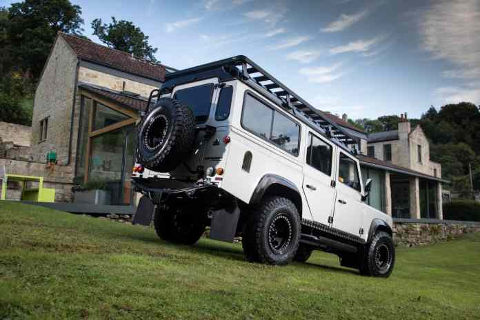 1991 SHACKLETON Defender D110 Adventure Edition by Arkonik exterior
