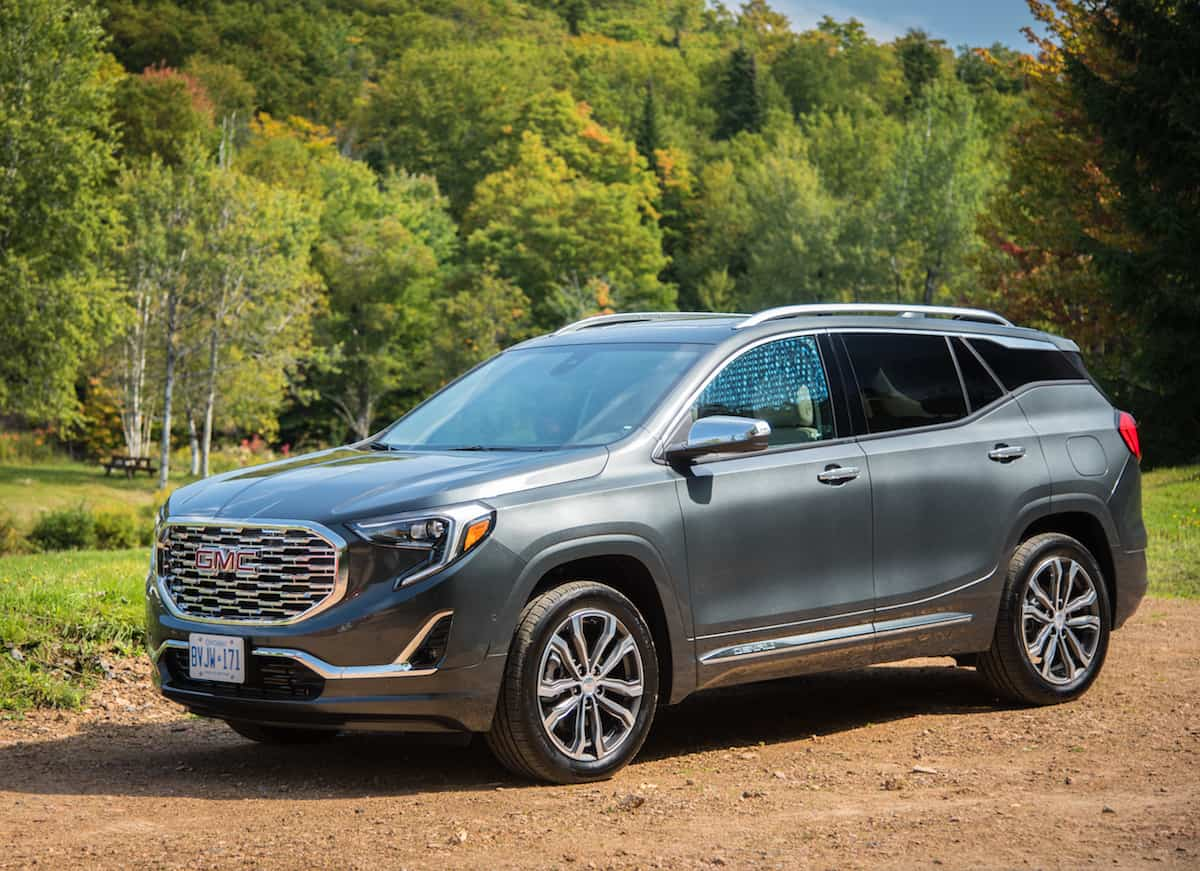 2018 GMC Terrain front angle