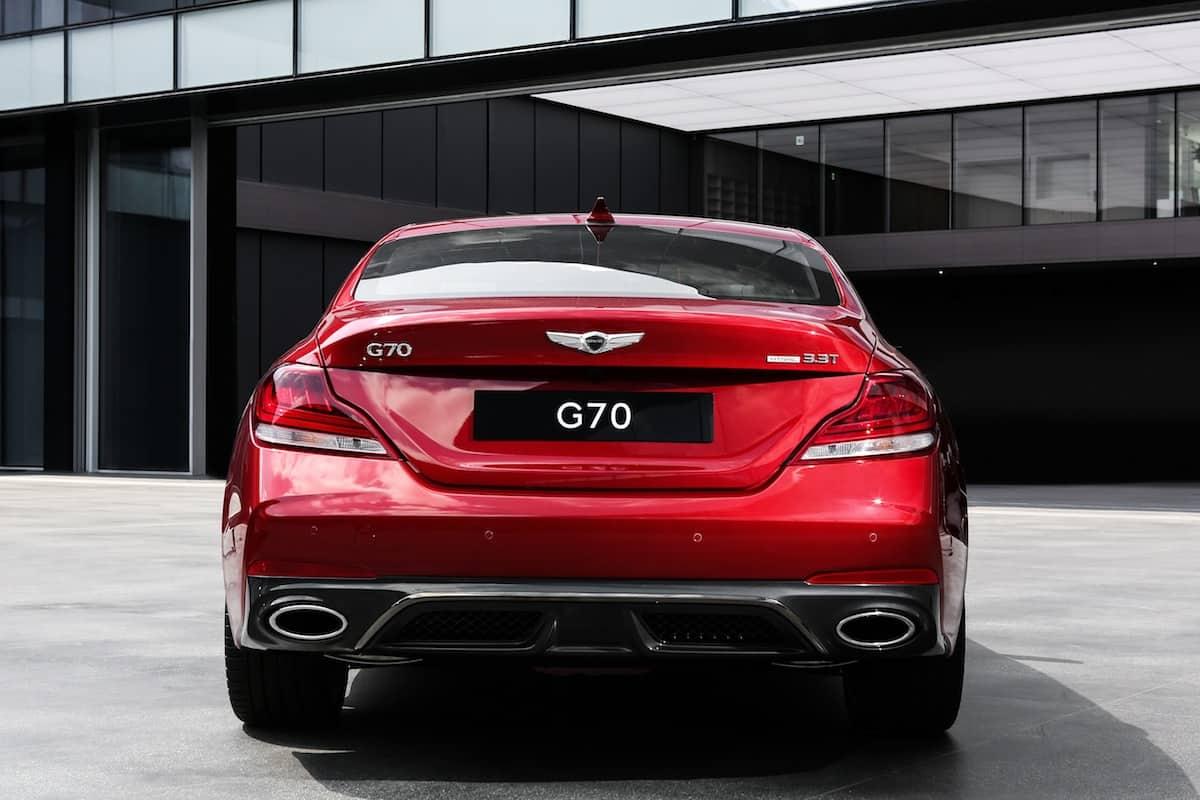 2018 genesis g70 sedan 6