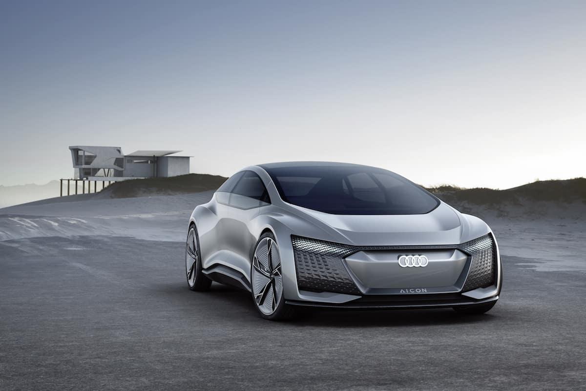 Audi's Future of Autonomous Cars Might Look Like the Aicon Concept