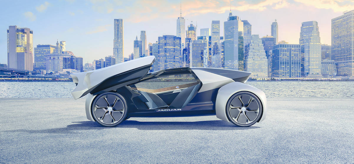 Jaguar's Take on Vehicles of 2040 with the Future-Type Concept