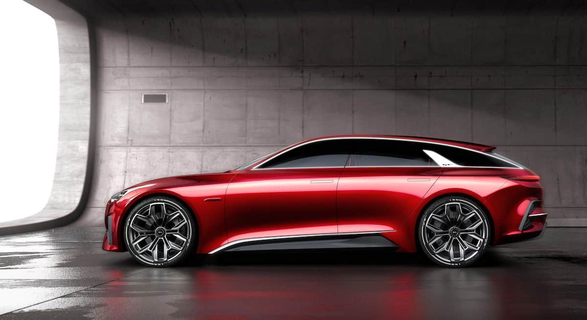 Kia's Shooting Brake-Style Proceed Concept Unveiled at Frankfurt Motor Show