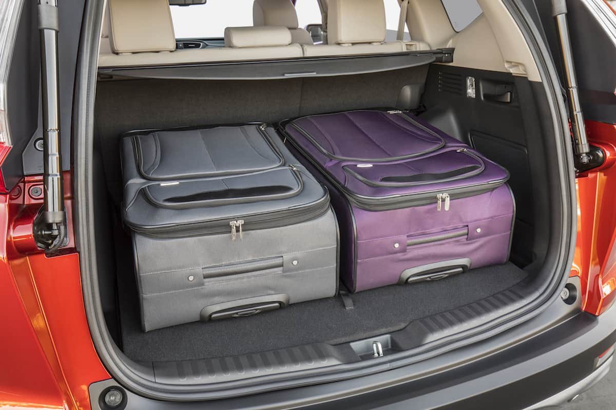 2017 Honda CR-V touring review rear cargo