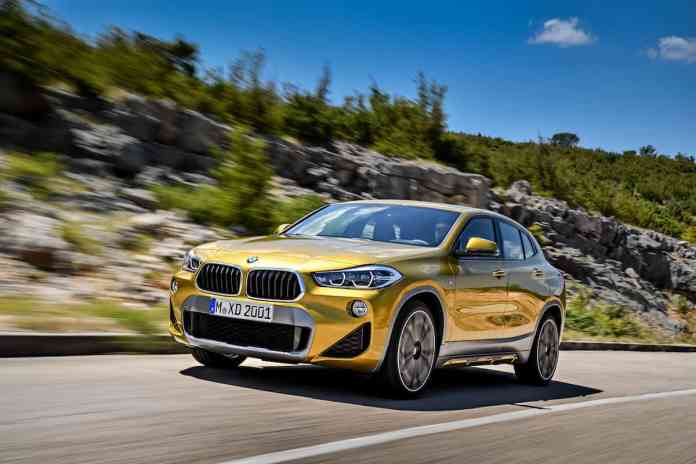 2018 bmw x2 crossover front rolling 2