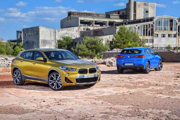 2018 bmw x2 crossover