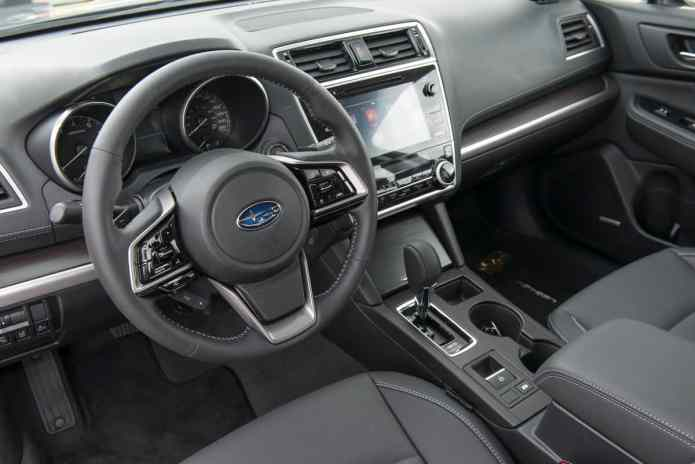 2018 Subaru Legacy Review interior