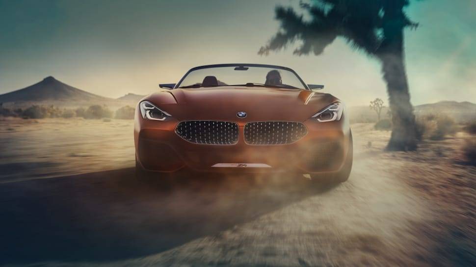 2019 BMW Z4 concept rolling front