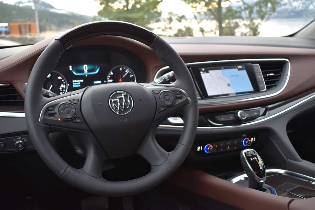 2018 Buick Enclave First Drive Review interior cockpit