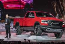 2019 dodge ram 1500 detroit debut