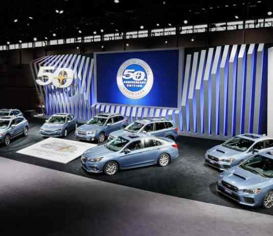 Subaru 50th Anniversary Models