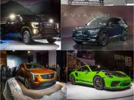 2018 new york auto show top debuts and unveils