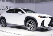 2019 lexus ux 200h f sport