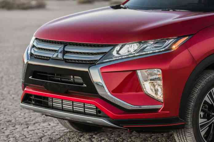 2018 mitsubishi Eclipse Cross front grill red