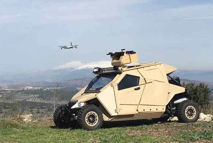 Plasan Yagu armoured vehicle