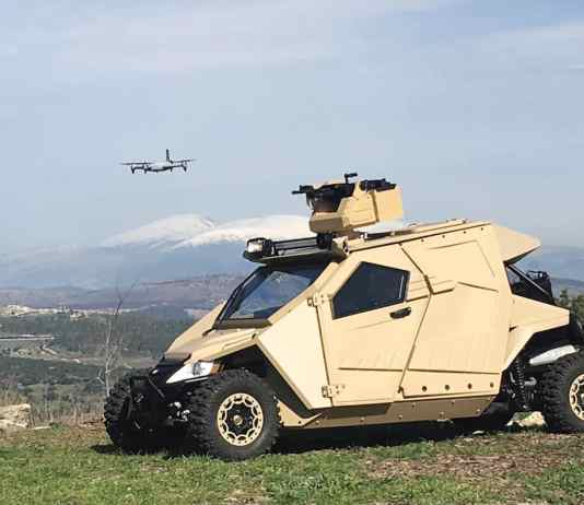 Plasan Yagu armoured vehicle
