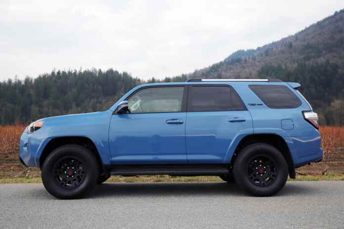 2018 Toyota 4Runner TRD Pro Review side view