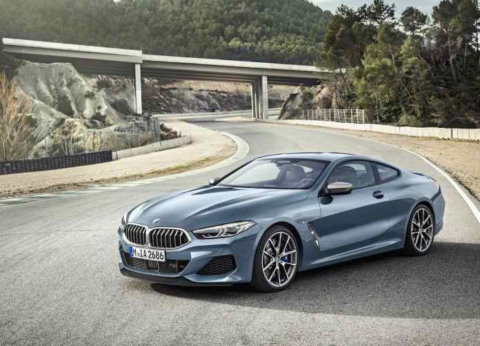 2019 BMW 8 Series Coupe front