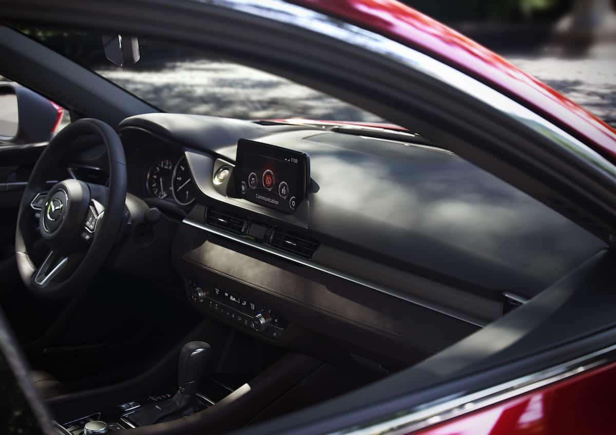Mazda 6 2018 review interior