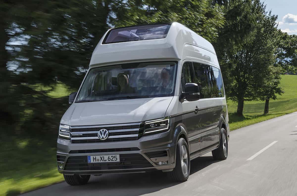 Volkswagen Grand California front rolling
