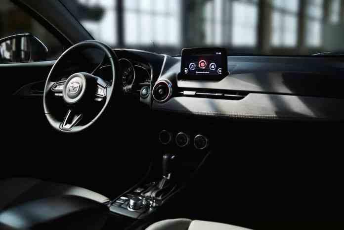 2019 Mazda CX-3 interior in black