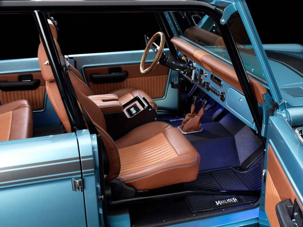 670-hp 4-Door Bronco Restored to Perfection front